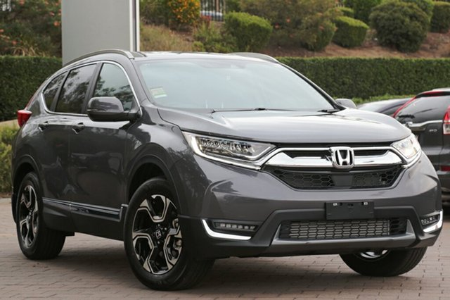 New Honda CR-V RW MY18 VTi-LX 4WD, 2018 Honda CR-V RW MY18 VTi-LX 4WD Modern Steel 1 Speed Constant Variable SUV