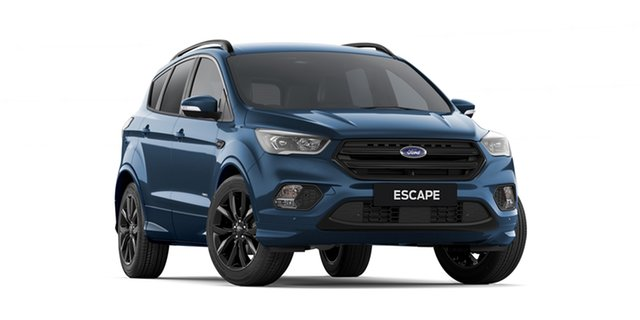 New Ford Escape ZG 2019.25MY ST-Line AWD, 2019 Ford Escape ZG 2019.25MY ST-Line AWD Blue Metallic 6 Speed Sports Automatic Wagon