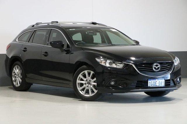 Used Mazda 6 6C MY15 Sport, 2016 Mazda 6 6C MY15 Sport Black 6 Speed Automatic Wagon