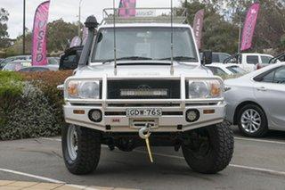 2008 Toyota Landcruiser VDJ76R Workmate Silver 5 Speed Manual Wagon.
