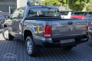 2017 Volkswagen Amarok 2H MY18 TDI420 4MOTION Perm Core Grey 8 Speed Automatic Cab Chassis