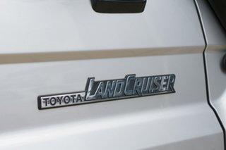 2008 Toyota Landcruiser VDJ76R Workmate Silver 5 Speed Manual Wagon