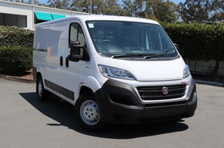 2018 Fiat Ducato Series 6 (MY17) MWB/LOW White 6 Speed Automatic Van.