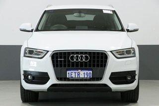 2015 Audi Q3 8U MY14 2.0 TFSI Quattro (125KW) White 7 Speed Auto Dual Clutch Wagon.