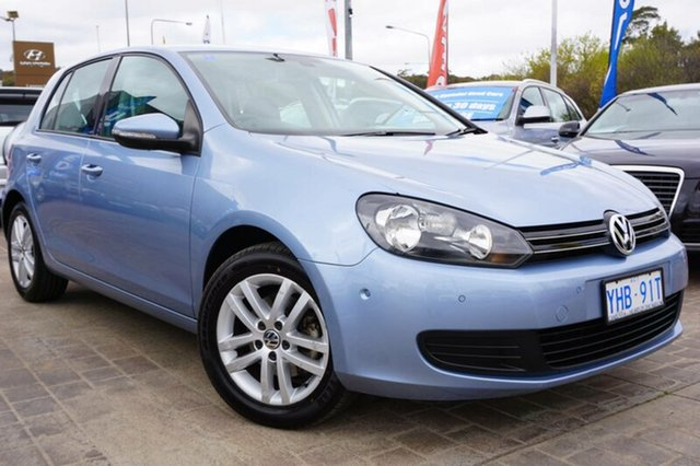 Used Volkswagen Golf VI MY10 103TDI DSG Comfortline, 2010 Volkswagen Golf VI MY10 103TDI DSG Comfortline Shark Blue 6 Speed Sports Automatic Dual Clutch