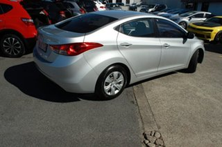 2012 Hyundai Elantra MD Active Silver 6 Speed Manual Sedan