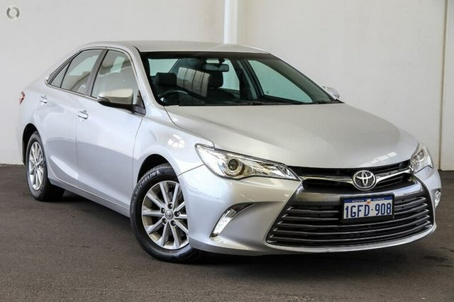 Used Toyota Camry ASV50R Altise, 2017 Toyota Camry ASV50R Altise Silver Pearl 6 Speed Sports Automatic Sedan
