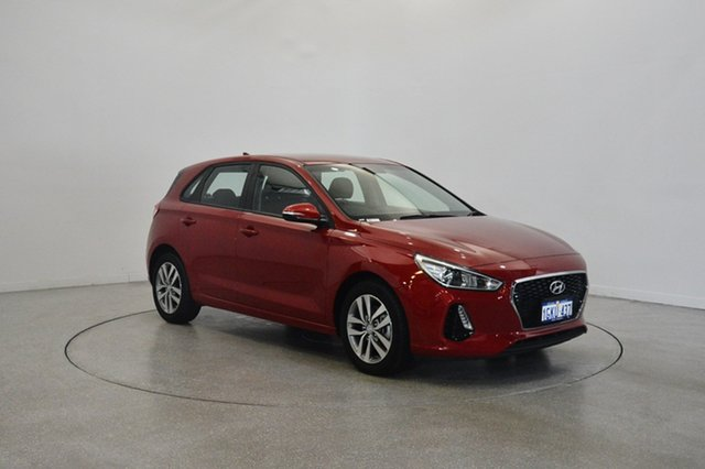 Used Hyundai i30 PD MY18 Active, 2017 Hyundai i30 PD MY18 Active Fiery Red 6 Speed Sports Automatic Hatchback
