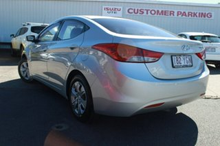 2012 Hyundai Elantra MD Active Silver 6 Speed Manual Sedan.
