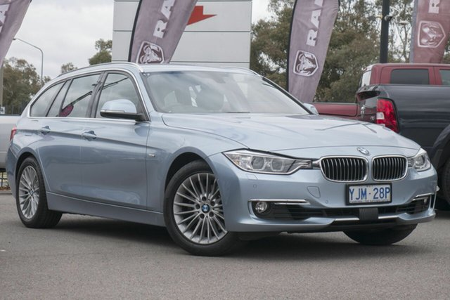 Used BMW 320i F31 MY0813 Touring, 2013 BMW 320i F31 MY0813 Touring Blue 8 Speed Sports Automatic Wagon
