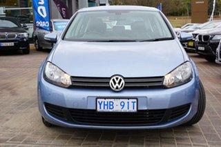 2010 Volkswagen Golf VI MY10 103TDI DSG Comfortline Shark Blue 6 Speed Sports Automatic Dual Clutch.