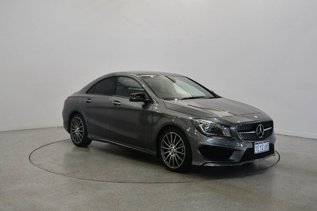 Used Mercedes-Benz CLA200 C117 806MY d DCT, 2016 Mercedes-Benz CLA200 C117 806MY d DCT Grey 7 Speed Sports Automatic Dual Clutch Coupe