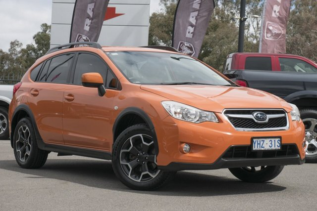 Used Subaru XV G4X MY12 2.0i AWD, 2012 Subaru XV G4X MY12 2.0i AWD Orange 6 Speed Manual Wagon