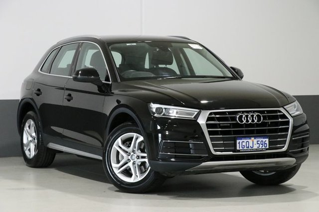 Used Audi Q5 FY MY17 2.0 TDI Quattro Design, 2017 Audi Q5 FY MY17 2.0 TDI Quattro Design Mythos Black 7 Speed Auto S-Tronic Wagon
