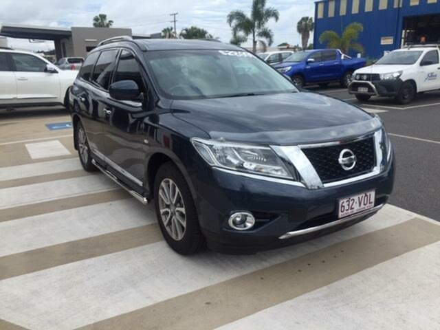 Used Nissan Pathfinder R52 MY15 ST-L X-tronic 4WD, 2014 Nissan Pathfinder R52 MY15 ST-L X-tronic 4WD Blue 1 Speed Constant Variable Wagon