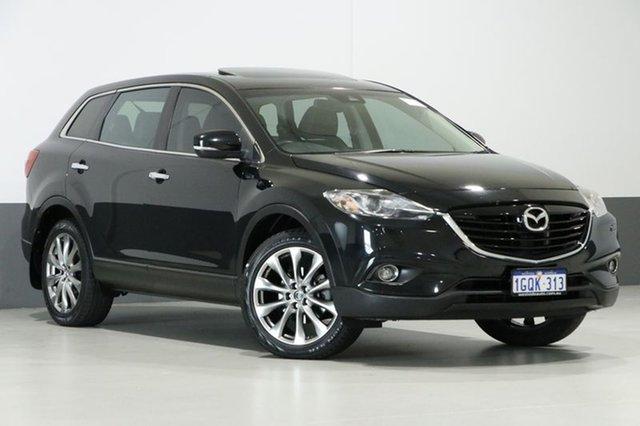 Used Mazda CX-9 MY14 Grand Touring, 2015 Mazda CX-9 MY14 Grand Touring Black 6 Speed Auto Activematic Wagon