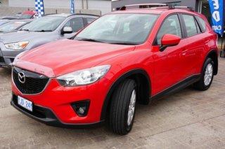 2012 Mazda CX-5 KE1021 Maxx SKYACTIV-Drive AWD Sport Red 6 Speed Sports Automatic Wagon.
