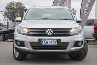 2011 Volkswagen Tiguan 5N MY12 155TSI DSG 4MOTION Silver 7 Speed Sports Automatic Dual Clutch Wagon.
