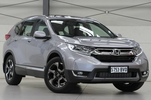 Demo Honda CR-V RW MY18 VTi-L FWD, 2018 Honda CR-V RW MY18 VTi-L FWD Lunar Silver 1 Speed Constant Variable Wagon