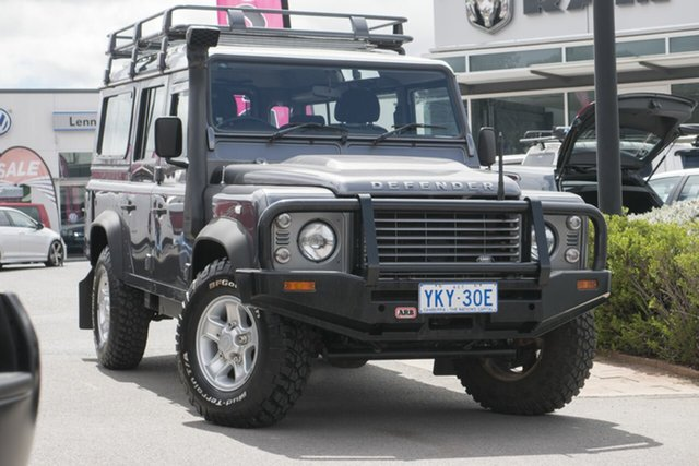 Used Land Rover Defender 110 15MY , 2015 Land Rover Defender 110 15MY Corris Grey 6 Speed Manual Wagon