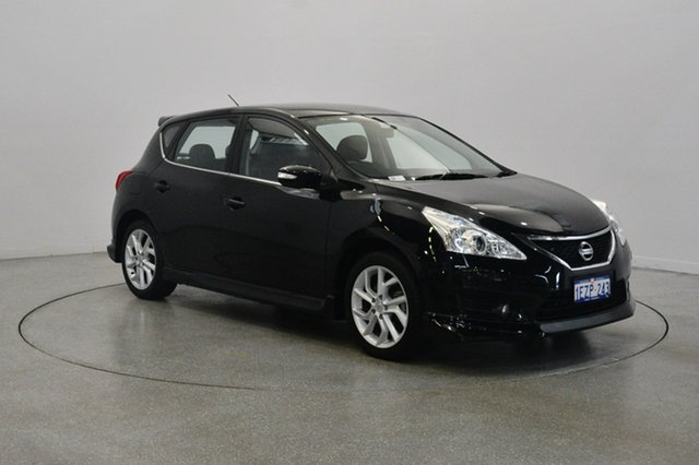 Used Nissan Pulsar C12 SSS, 2014 Nissan Pulsar C12 SSS Black 6 Speed Manual Hatchback