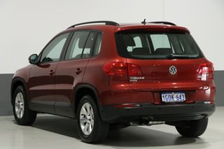 2013 Volkswagen Tiguan 5NC MY13.5 132 TSI Pacific Red 7 Speed Auto Direct Shift Wagon