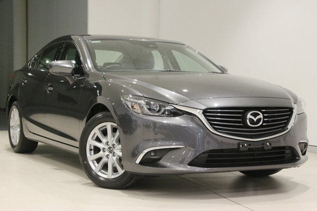 Used Mazda 6 GL1031 Touring SKYACTIV-Drive, 2018 Mazda 6 GL1031 Touring SKYACTIV-Drive Machine Grey 6 Speed Sports Automatic Sedan