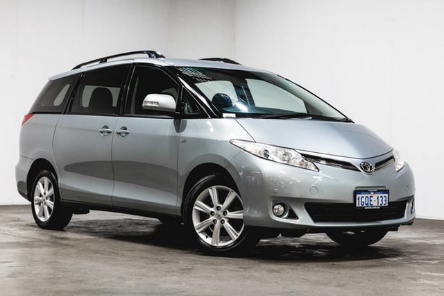 Used Toyota Tarago ACR50R MY09 GLX, 2010 Toyota Tarago ACR50R MY09 GLX Grey 4 Speed Sports Automatic Wagon
