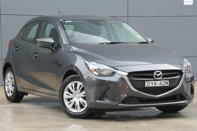 Demo Mazda 2 DJ2HA6 Neo SKYACTIV-MT, 2018 Mazda 2 DJ2HA6 Neo SKYACTIV-MT Meteor Grey 6 Speed Manual Hatchback