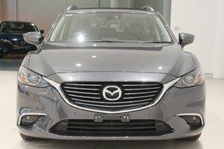2016 Mazda 6 GJ1032 Touring SKYACTIV-Drive Grey 6 Speed Sports Automatic Wagon