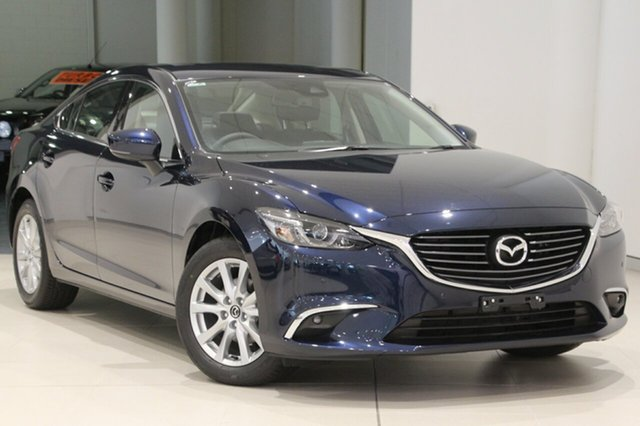 Used Mazda 6 GL1031 Touring SKYACTIV-Drive, 2018 Mazda 6 GL1031 Touring SKYACTIV-Drive Deep Crystal Blue 6 Speed Sports Automatic Sedan