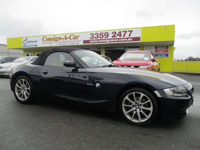Used BMW Z4 E85 MY06 Steptronic, 2006 BMW Z4 E85 MY06 Steptronic Blue 6 Speed Sports Automatic Roadster