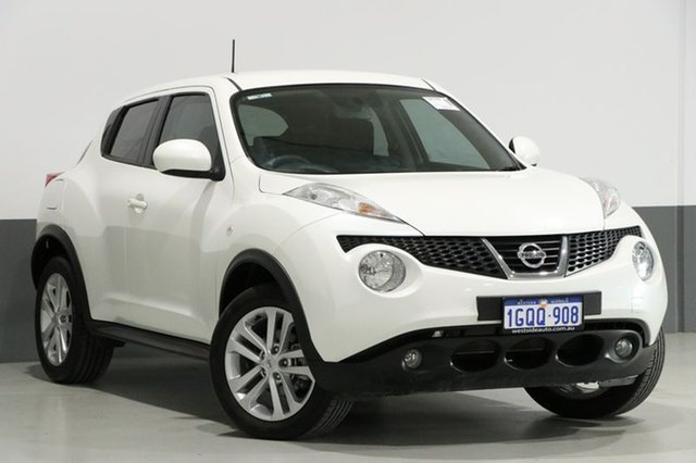 Used Nissan Juke F15 ST (FWD), 2014 Nissan Juke F15 ST (FWD) White 5 Speed Manual Wagon