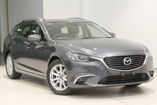 2016 Mazda 6 GJ1032 Touring SKYACTIV-Drive Grey 6 Speed Sports Automatic Wagon.