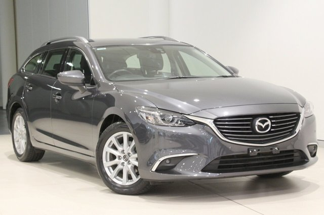 Used Mazda 6 GJ1032 Touring SKYACTIV-Drive, 2016 Mazda 6 GJ1032 Touring SKYACTIV-Drive Grey 6 Speed Sports Automatic Wagon
