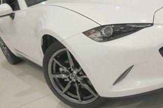 2017 Mazda MX-5 ND GT RF SKYACTIV-MT White Pearl 6 Speed Manual Targa.