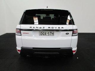 2017 Land Rover Range Rover Sport L494 17MY V8SC CommandShift HSE Dynamic Fuji White 8 Speed