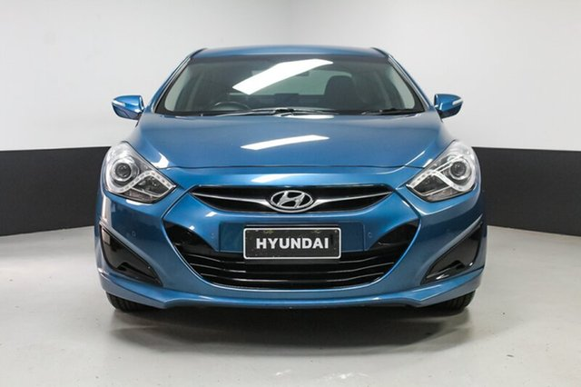 Used Hyundai i40 VF2 Active, 2014 Hyundai i40 VF2 Active Blue 6 Speed Sports Automatic Sedan