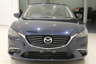 2018 Mazda 6 GL1031 Touring SKYACTIV-Drive Deep Crystal Blue 6 Speed Sports Automatic Sedan