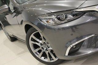 2018 Mazda 6 GL1031 GT SKYACTIV-Drive Machine Grey 6 Speed Sports Automatic Wagon.