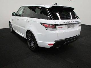2017 Land Rover Range Rover Sport L494 17MY V8SC CommandShift HSE Dynamic Fuji White 8 Speed.