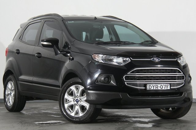 Used Ford Ecosport BK Trend PwrShift, 2015 Ford Ecosport BK Trend PwrShift Panther Black 6 Speed Sports Automatic Dual Clutch SUV