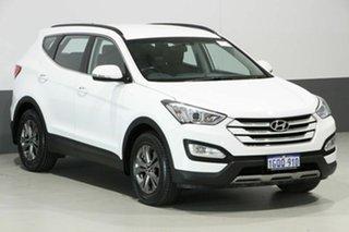 2014 Hyundai Santa Fe DM Active CRDi (4x4) White 6 Speed Automatic Wagon