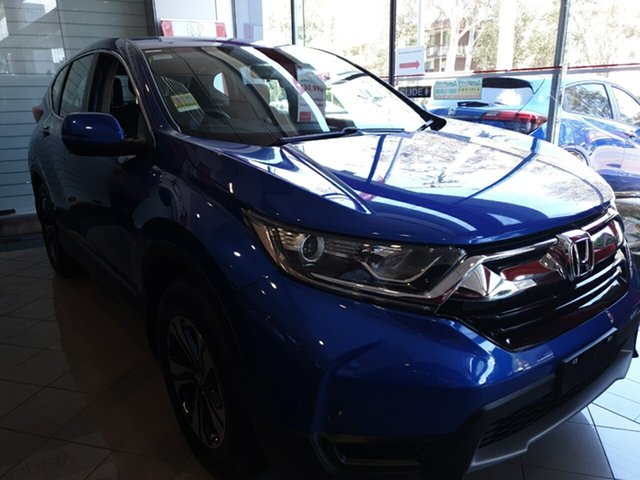 Demo Honda CR-V RW MY18 Vi FWD, 2018 Honda CR-V RW MY18 Vi FWD Brilliant Sporty Blue 1 Speed Constant Variable Wagon