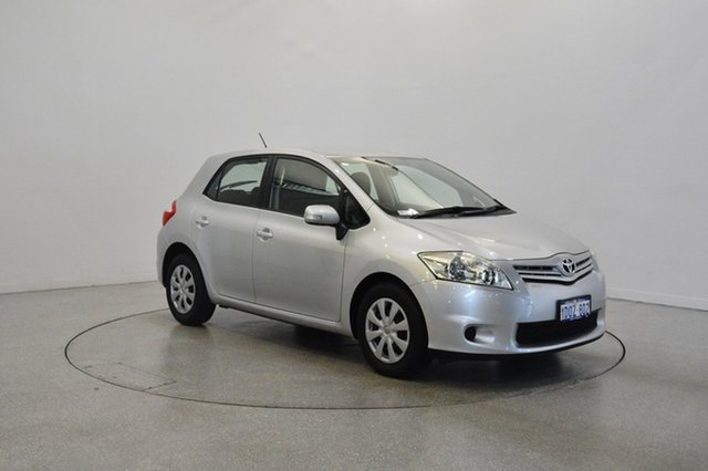 Used Toyota Corolla ZRE152R MY11 Ascent, 2011 Toyota Corolla ZRE152R MY11 Ascent Silver 6 Speed Manual Hatchback