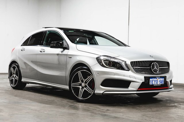 Used Mercedes-Benz A250 W176 806MY Sport D-CT 4MATIC, 2016 Mercedes-Benz A250 W176 806MY Sport D-CT 4MATIC Silver 7 Speed Sports Automatic Dual Clutch