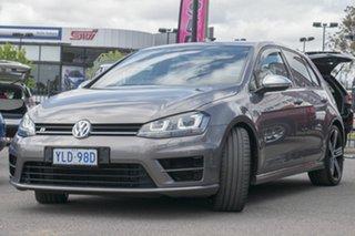 2016 Volkswagen Golf VII MY16 R DSG 4MOTION Limestone Grey 6 Speed Sports Automatic Dual Clutch.