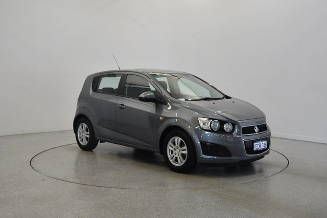 Used Holden Barina TM MY13 CD, 2013 Holden Barina TM MY13 CD Black 6 Speed Automatic Hatchback