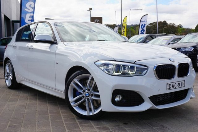 Used BMW 125i F20 LCI M Sport, 2015 BMW 125i F20 LCI M Sport White 8 Speed Sports Automatic Hatchback