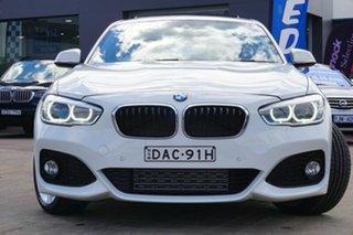 2015 BMW 125i F20 LCI M Sport White 8 Speed Sports Automatic Hatchback.